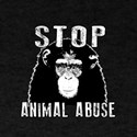 Stop Animal Abuse - Chimpanzee T-Shirt