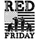 RED Friday Soldiers Shirt