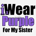 I Wear Purple For My Sister