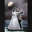 Poe and Annabel Lee Beyond the Sea T-Shirt