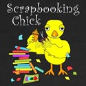 Scrapbooking Chick Text T-Shirt