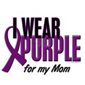 I Wear Purple For My Mom 10