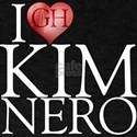 I Heart Kim Nero T-Shirt