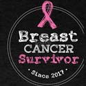 Breast Cancer Survivor Awareness Since 201 T-Shirt
