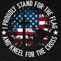 I Proudly Stand For The Flag Kneel For The T-Shirt