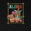 Vintage Hawaiian Tiki Hula Aloha Tropical T-Shirt