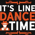 Line Dance Shirt Its Line Dance Time Gift T-Shirt