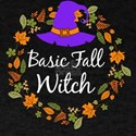 Basic Fall Witch Autumn Halloween T-Shirt