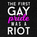 The First Gay Pride LGBT LGBTQ Transgender T-Shirt