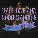 Peace, Love Peace, Love And Understanding T-Shirt