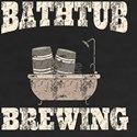 Funny Beer Bathtub Home Brewing for dark T-Shirt