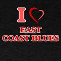 I Love EAST COAST BLUES T-Shirt