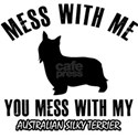 Australian silky terrier pet designs T-Shirt