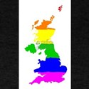 United Kingdom Gay Pride Flag T-Shirt