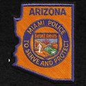 Miami Arizona Police T-Shirt