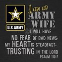 I am an Army Wife Psalm 112 Long Sleeve T-Shirt