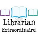 Librarian (Extraordinaire) White T-Shirt