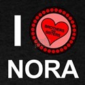 I Love Nora Brothers & Sisters T-Shirt