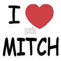 I heart MITCH White T-Shirt