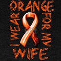 I Wear Orange for my Wife.png T-Shirt