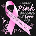 I Wear Pink Because I Love My Mother In Law T-Shir