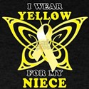 I Wear Yellow For My Niece T-Shirt