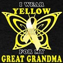 I Wear Yellow For My Great Grandma T-Shirt
