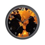 Firefighters Wall Clock