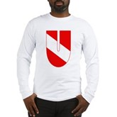 Scuba Flag Letter U Long Sleeve T-Shirt