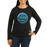 10000 Dives Women's Long Sleeve Dark T-Shirt