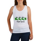 Triple Spoon Women's Tank Top