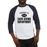 Cave Diving Department Baseball Jersey