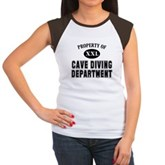 Cave Diving Department Women's Cap Sleeve T-Shirt