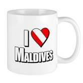 Scuba: I Love Maldives Mug