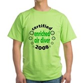Enriched Air Diver 2008 Green T-Shirt
