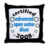 Certified AOW 2008 Throw Pillow