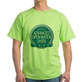 Certified AOWD 2008 Green T-Shirt