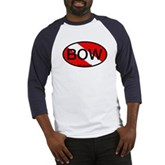 BOW Oval Dive Flag Baseball Jersey