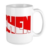 Tauchen German Scuba Flag Large Mug