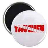 Tauchen German Scuba Flag Magnet