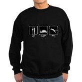 Eat Sleep Dive Sweatshirt (dark)