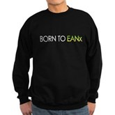 Born to EANx Nitrox Diver Sweatshirt (dark)