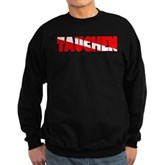 Tauchen German Scuba Flag Sweatshirt (dark)