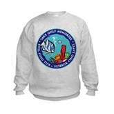 Take Only Memories (fish) Kids Sweatshirt