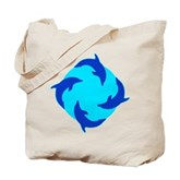 Dolphin Ring Tote Bag