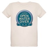 Open Water Diver 2009 Organic Kids T-Shirt