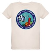 Take Only Memories (fish) Organic Kids T-Shirt