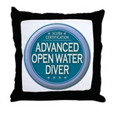 Certified AOWD Throw Pillow
