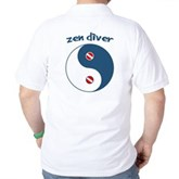 Zen Diver Golf Shirt