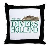 Zeeland Divers Holland Throw Pillow